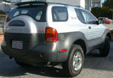 Isuzu VehiCross On The Curbside